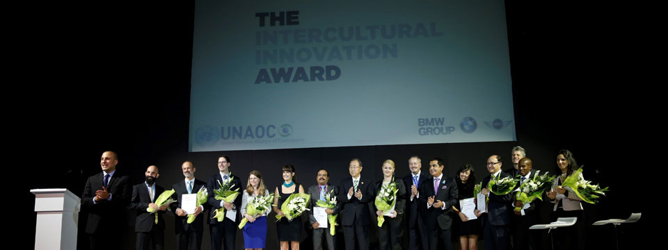 At Sixth Global Forum of the United Nations Alliance of Civilizations, UNAOC and BMW Group announce 2014 Intercultural Innovation Award Winners